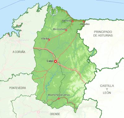 Lugo mapa