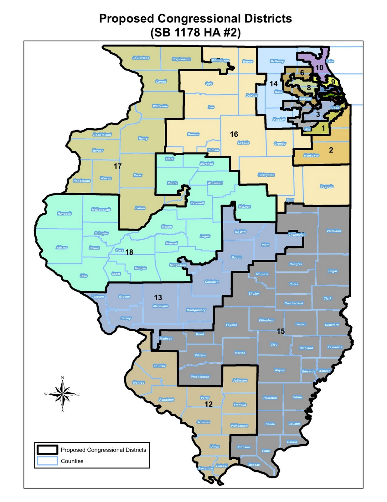 illinois general assembly district map Quotes