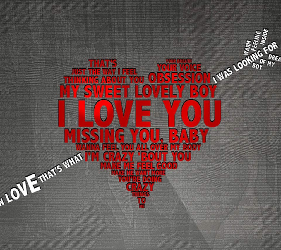 I love you 2 (too) hd wallpaper 2014 on Valentines day