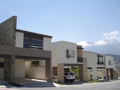 fraccionamiento moderno casas y fachadas modernas contemporaneo