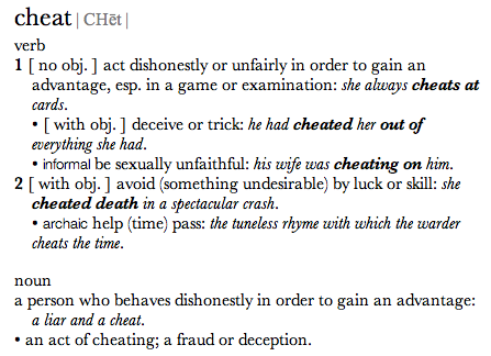 What Armstrong Fails To Mention Is The Element Of Dishonesty That Any  Dictionaryu0027s Entry For Cheat Will Include. Here For Instance Is The New  Oxford ...