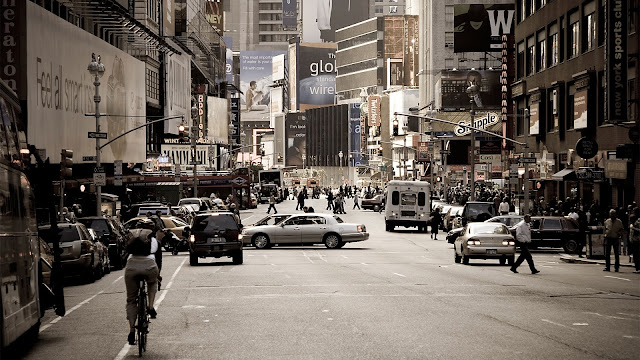 Broadway New York Photo