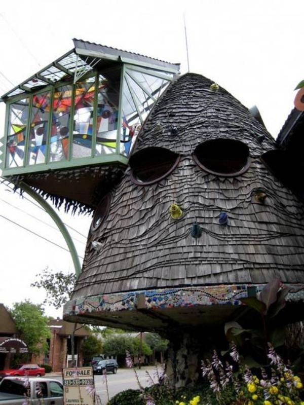 The Mushroom House, Cincinnati, Ohio, USA, Unusual Home Design