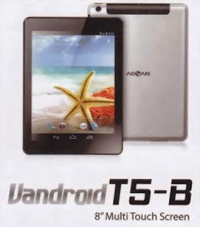 Advan Vandroid T5B 8 Inch Tablet Android harga dibawah 2 juta