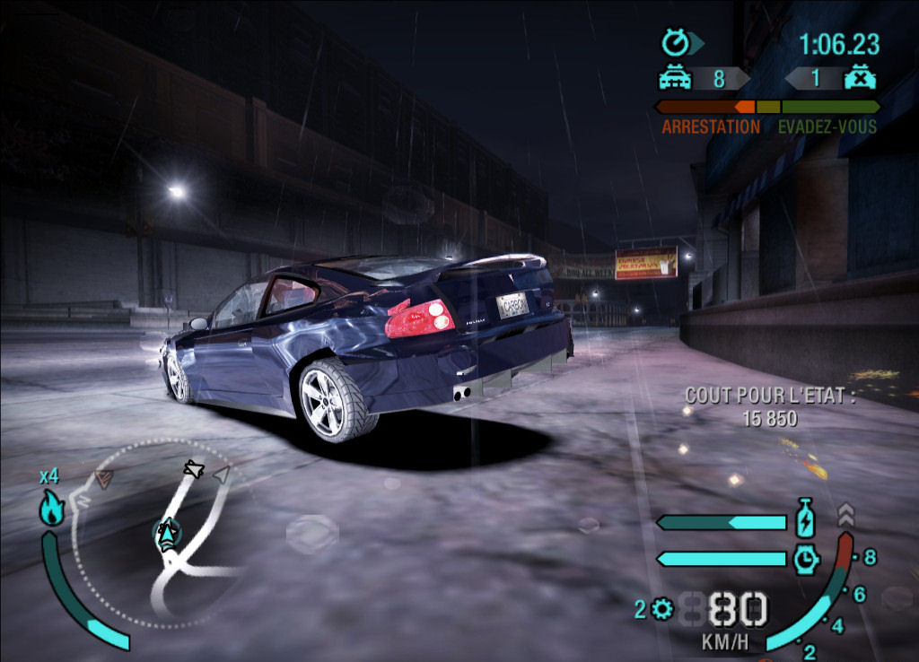 But this was missing was most wanted version need for speed