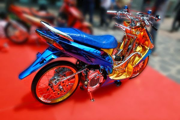 Modifikasi Honda Vario Drag