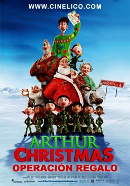 Poster de Arthur Christmas: Operación regalo