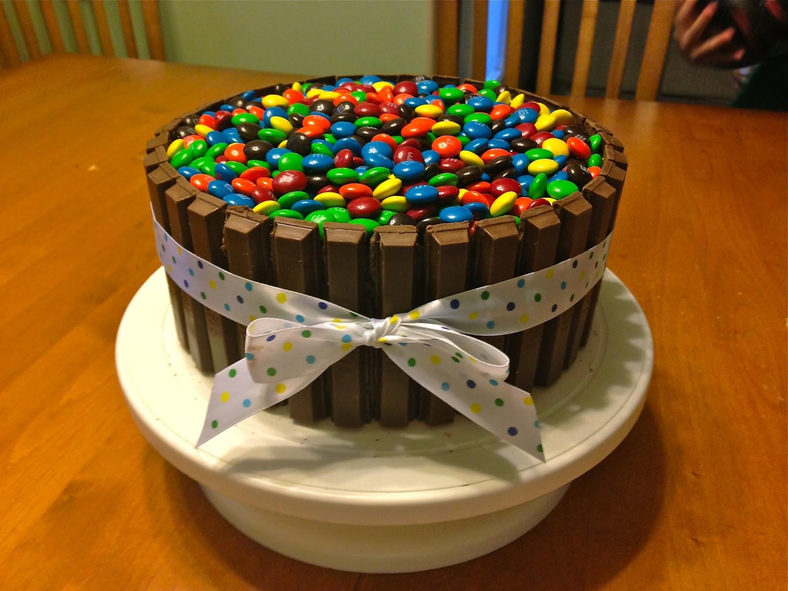 The Cake Cow Kit Kat Cake