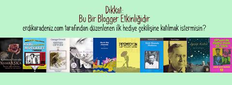 Birinci Blogger Etkinliği: Çekiliş Sonuçları ve Talihliler