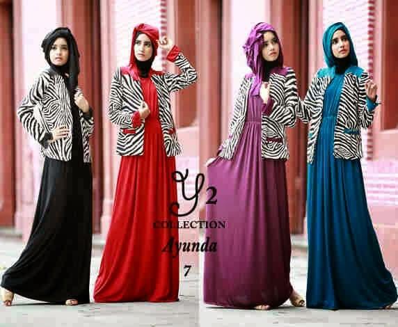 10 Model Baju Muslim Gamis Modern Tebaru Model Gamis Masa