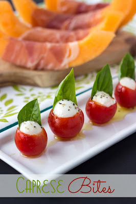 Caprese Bites | Cooking on the Front Burner