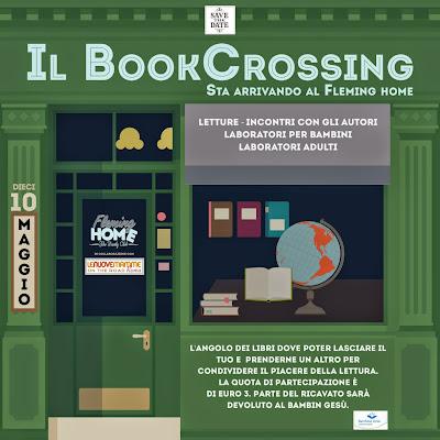 Bookcrossing Day Il 10 maggio al Fleming Home con le Nuove Mamme di Roma