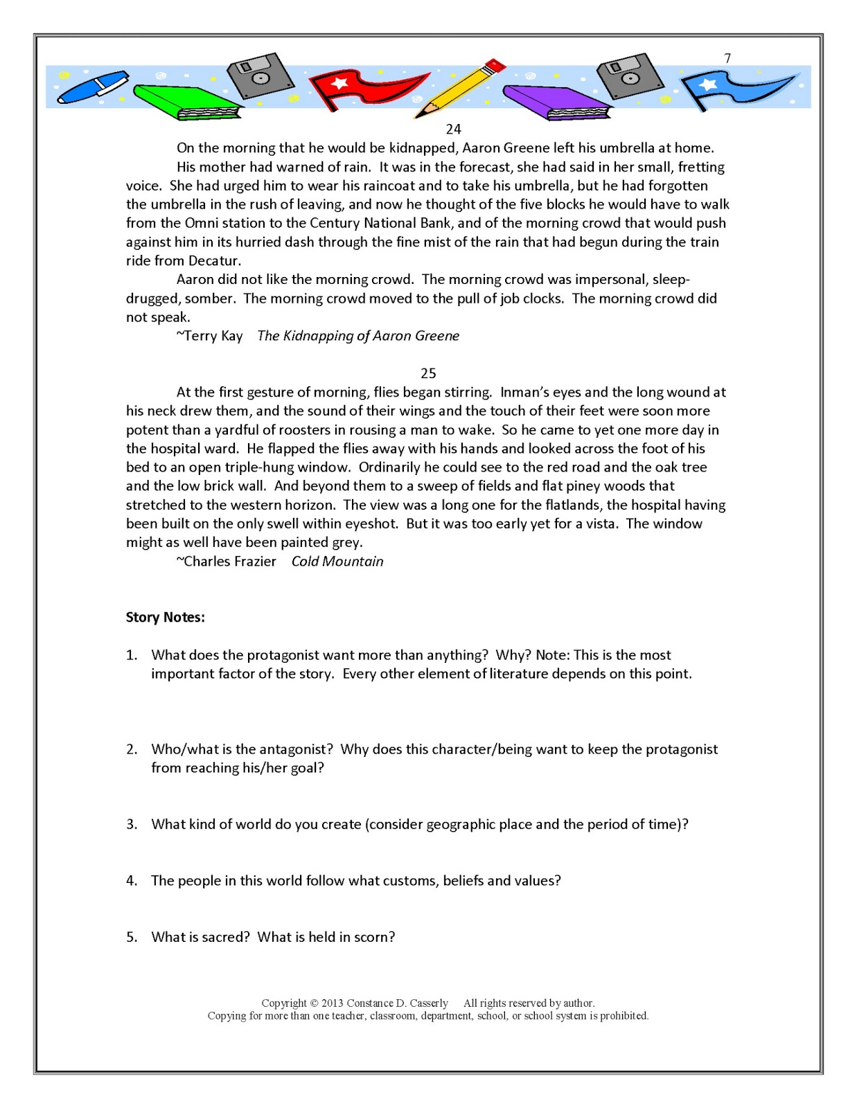 expository essay lesson plans 7th grade