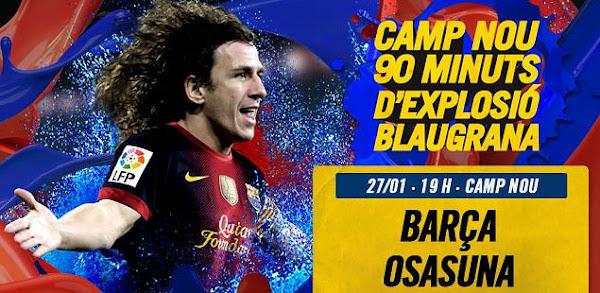 InfoDeportiva - Informacion al instante. FC BARCELONA VS OSASUNA