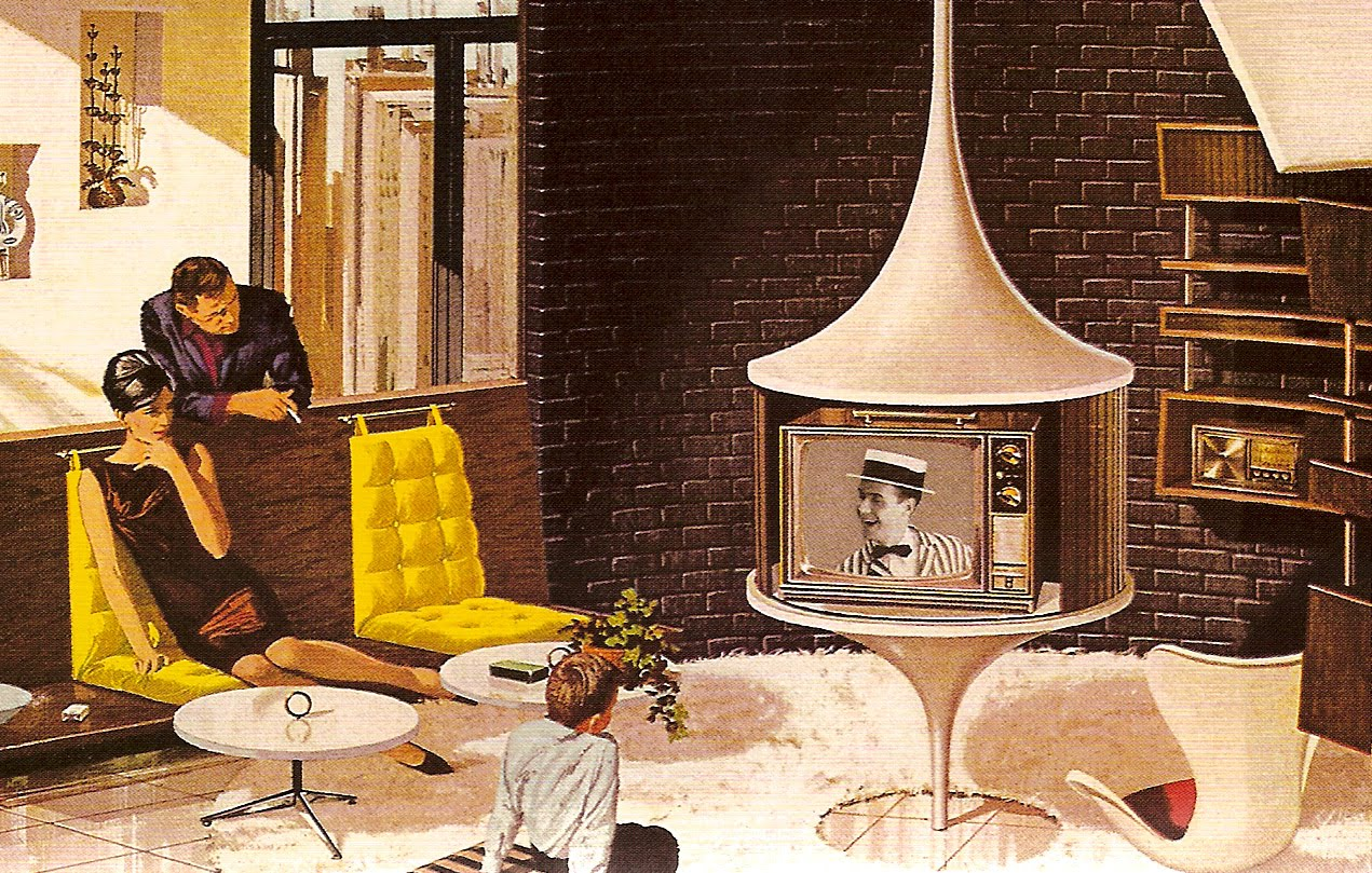 Mad For Mid Century Mysterious Mid Century Modern Home Image