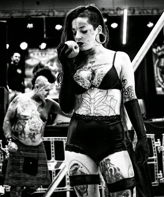 Tattoo convention 2015 Blanco y Negro B&W