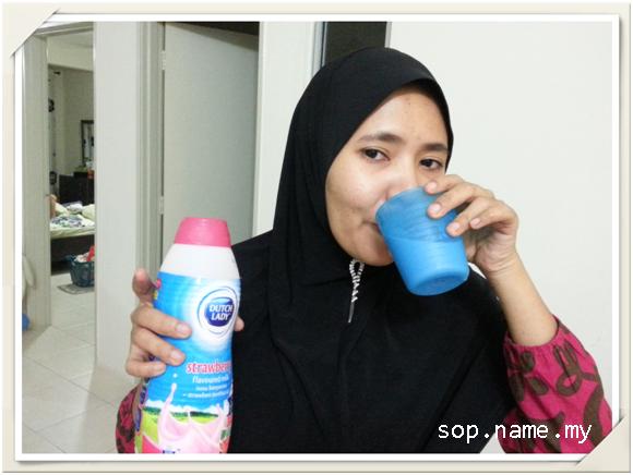 Anda tidak suka minum susu?