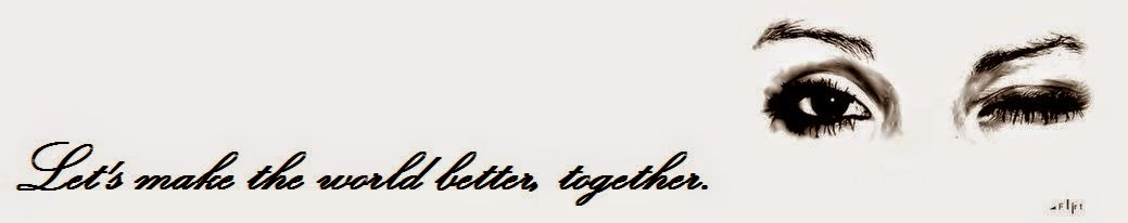 Let's make the world better, together.