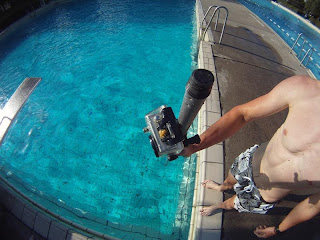 GoPro on Mop Stick