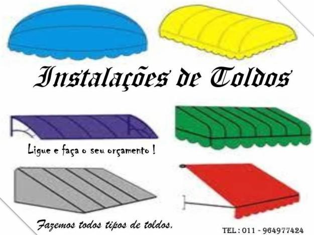 Toldos e coberturas for Tipos de toldos para patios