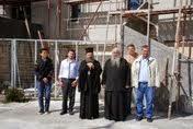 Επίσκεψη του Σεβασμιωτάτου στον Ι.Ν. Αγ. Αντωνίου προκειμένου να ενημερωθεί για τη πορεἰα των εργων