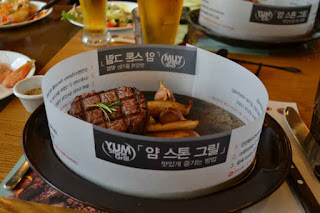 Steak in Seoul