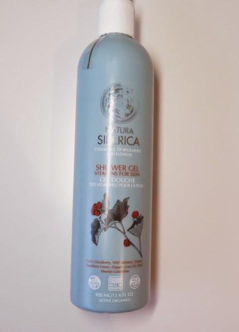 Natura siberica shower gel vitamins for skin dušo želė