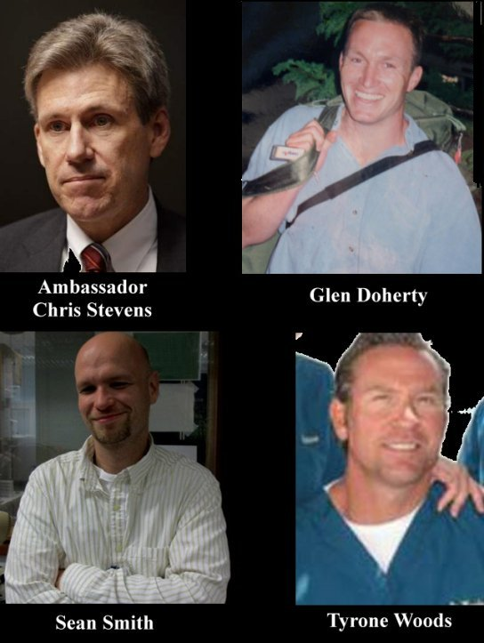 Victims of Benghazi attack 