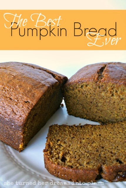 The Best Pumpkin Bread Ever