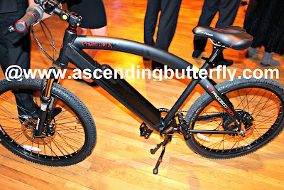 ProdecoTech Phantom X Electric Bicycle on display at The Luxury Technology Show New York City March 2015