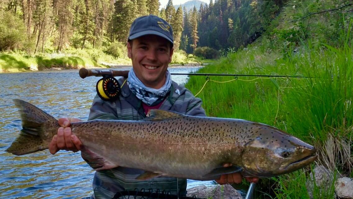 Ryan s fly fishing and hunting blog idaho chinook salmon for Salmon fishing in idaho