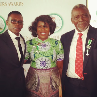 Veteran Actress Joke Silva shared a family photo