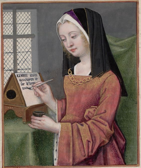 Helena escribiendo a Paris (Ovidio. Heroida XIII))