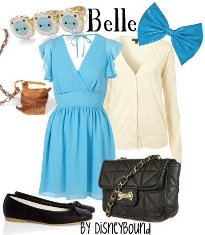 Disney Inspired Outfits Belle Meet Belle: The Beauty...