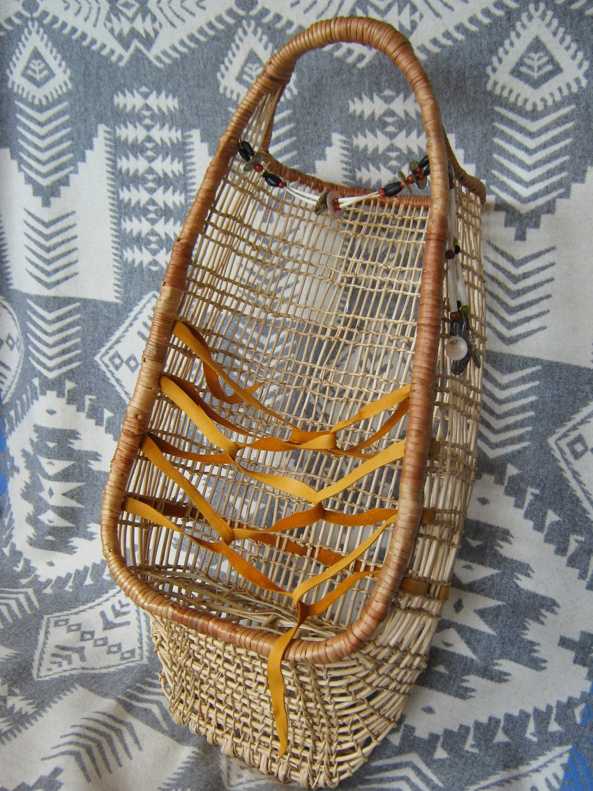 Gathering Basket Making Materials : Karuk basket materials