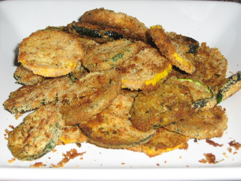 Janis Cooks: Oven-fried Zucchini Chips