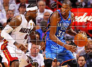 Puzzles de LeBron VS Durant
