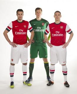 Jersey Terbaru Klub Eropa Musim 2012/2013