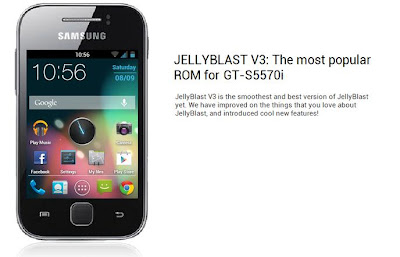 install jelly bean on galaxy mini