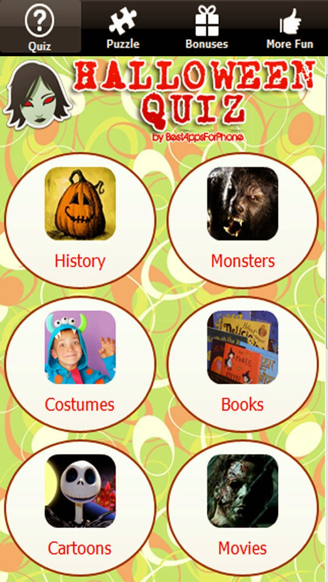 if you have smart phones or tablets you can download halloween trivia apps to challenge - Halloween Quiz For Kids