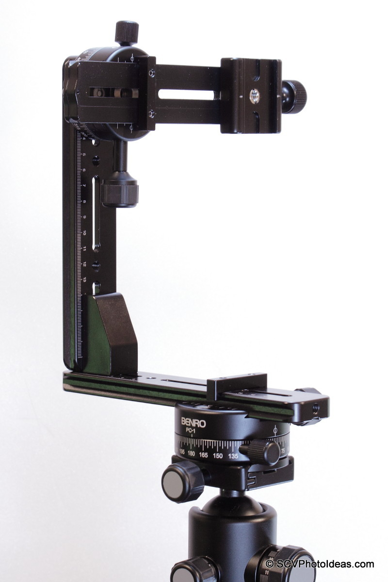 Benro PC-1 & PC-0 used in a Multi-Row Panorama head structure
