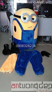 cho thuê mascot minions