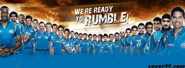 Mumbai Indians Facebook Cover Photo 2013