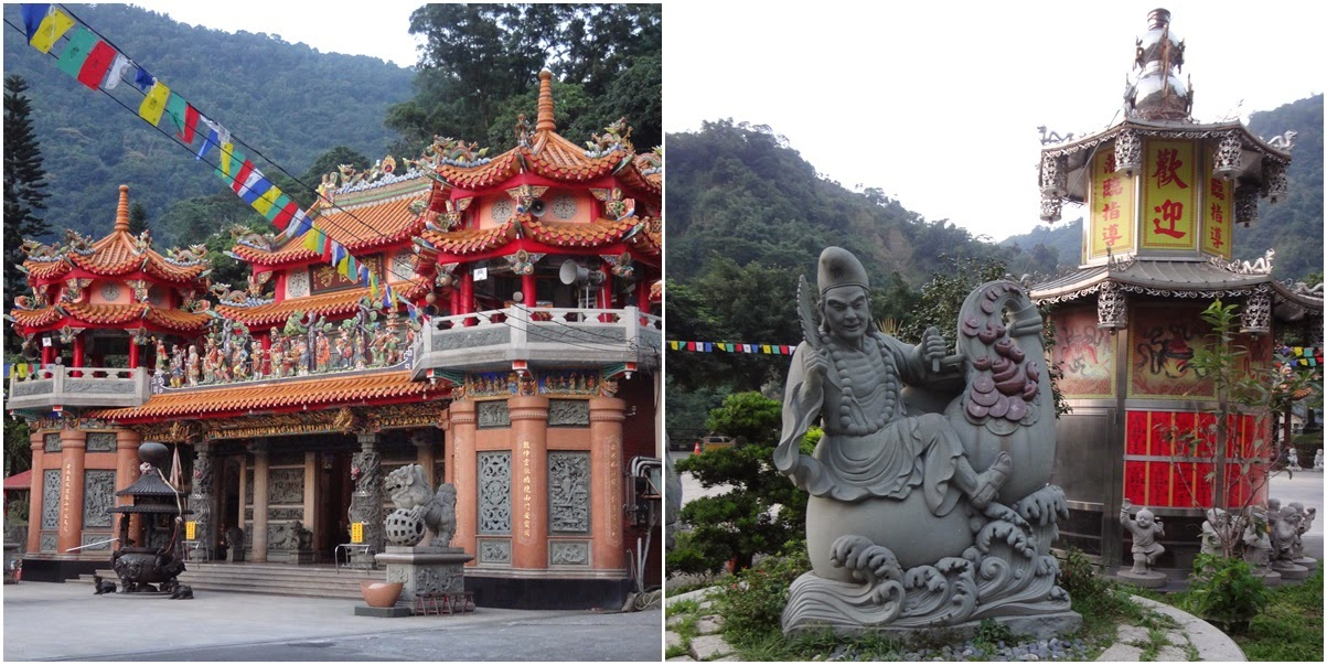 One of the Temple of Confucius can be found nearby the famous attraction of Sun Moon Lake in Nantou County of Taiwan