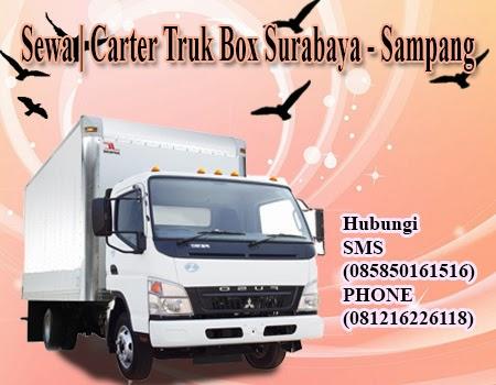 Sewa | Carter Truk Box Surabaya - Sampang