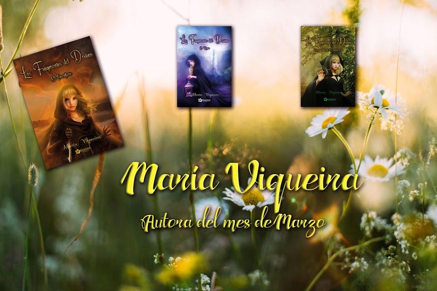 Autora del mes: María Viqueira