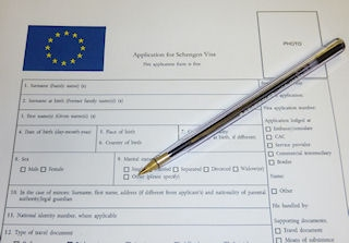 le dossier de visa court sejour de france