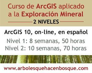 Curso ArcGIS online de exploracion mineral