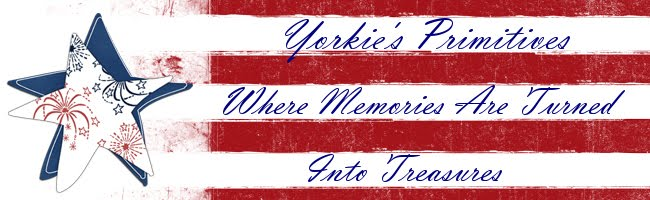 Yorkie's Primitives Sales Blog