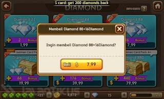 pembelian diamond lets get rich